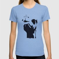 Camel Womens Fitted Tee Athletic Blue SMALL