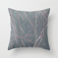 Shades of grass Throw Pillow