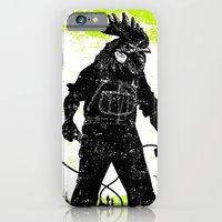 Rooster Man Microphone iPhone 6 Slim Case