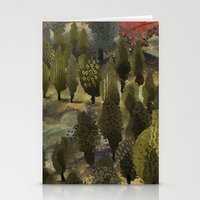The hill. Stationery Cards