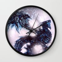 Coldfire Dragon Wall Clock