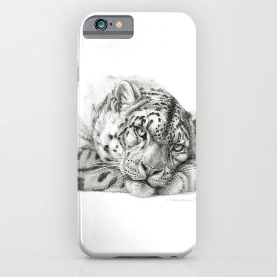 Pensive Snow Leopard G2011-011 iPhone & iPod Case
