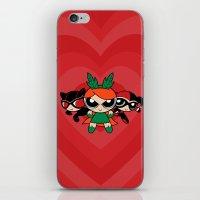 Supervillain Girls iPhone & iPod Skin