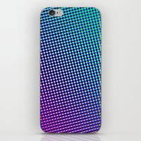 80's Grade Purple iPhone & iPod Skin