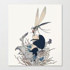 Entomophagy #1 Canvas Print