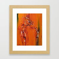 CrawFish  Framed Art Print