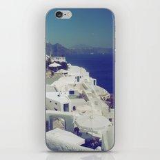 Santorini White & Blue iPhone & iPod Skin