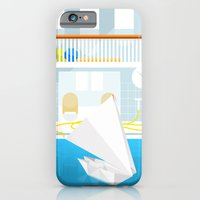 iPhone & iPod Case featuring ORIGAMI CATAMARAN by Greg Stedman Illustration