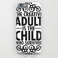 iPhone & iPod Case featuring Creative by Matthew Bartlett