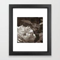 Chocolate Cream Framed Art Print