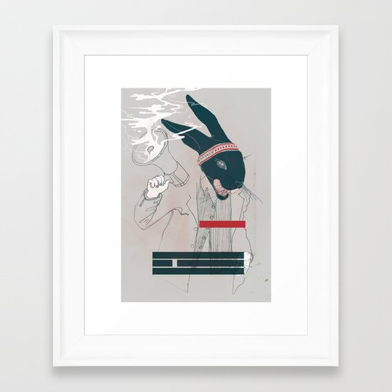 A Sense of Self Awareness Framed Art Print