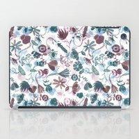 autumn flowers iPad Case