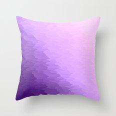 Lavender Ombre Throw Pillow