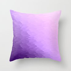 Lavender Ombre Throw Pillow