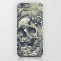 iPhone Cases featuring SKULL  by Prajoedi
