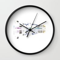 white harbor I. Wall Clock
