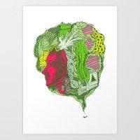 Ant Dreaming Art Print