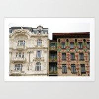 Viennese Art Nouveau Art Print