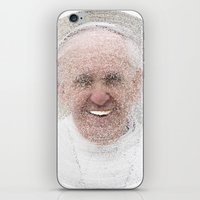 ArcFace - Papa Francesco iPhone & iPod Skin