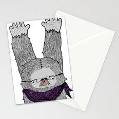 Trendi Yeti Stationery Cards