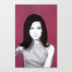Mary Tyler Moore Paper Art Print Canvas Print