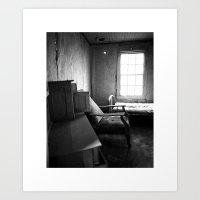 Solitude Chair Art Print