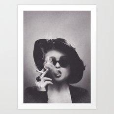 Marla Singer Art Print