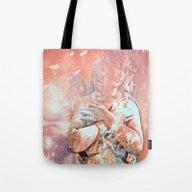 Angel Of Healing Tote Bag
