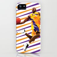iPhone & iPod Case featuring Kobe Bryant by Roland Banrevi