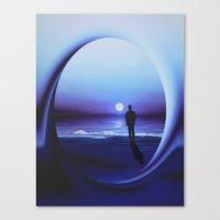 LANDSCAPE - Twilight zone Canvas Print