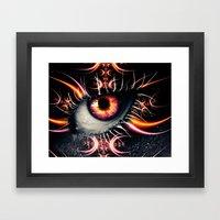 Starburst Framed Art Print