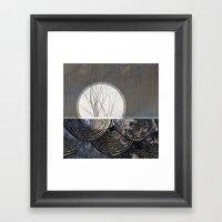 clue Framed Art Print
