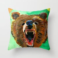 This Is A Bear Throw Pillow