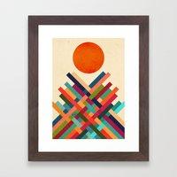 Sun Shrine Framed Art Print