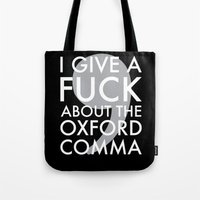 I Give A Fuck About The … Tote Bag
