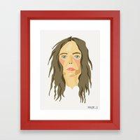 Patti Smith. Framed Art Print