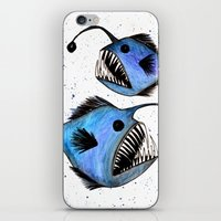 Anglerfish iPhone & iPod Skin