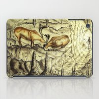 Rock Shelter Reindeer  iPad Case