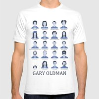 Gary Oldman Mens Fitted Tee White SMALL