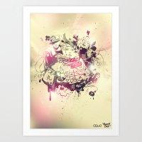 Stoned Art Print