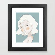 hey Framed Art Print