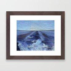 Wake Framed Art Print