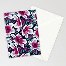 Manuka Floral Print -  Light Stationery Cards