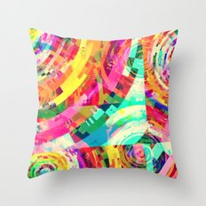 Playa del Carmen Sun, No. 2 Throw Pillow