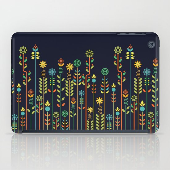 Overgrown flowers iPad Case