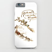 Pigeons and a scooter iPhone 6 Slim Case