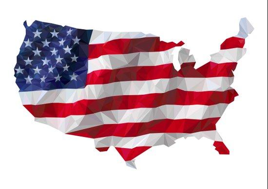 The Star-Spangled American Flag Canvas Print