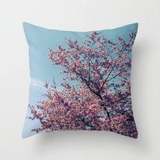 Blossom Into Spring Throw Pillow