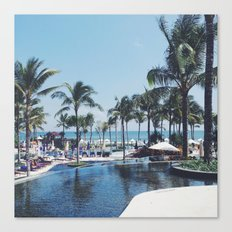 Paradise in Bali Canvas Print