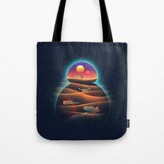 Droid-land Tote Bag
